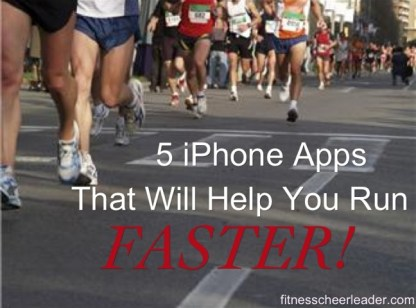 5 apps to help you run faster.
