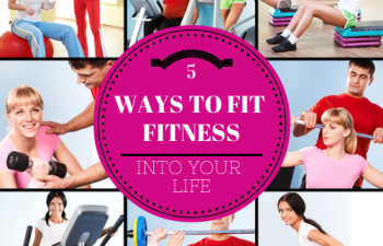 These are great REAL life ways to fit fitness into your life - I can't wait to try them! via fitnesscheerleader.com