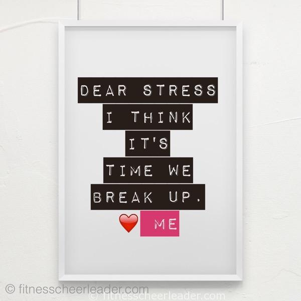 #MotivateMe Monday: Letting Go of the Stress