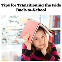Tips for Transitioning the Kids Back-to-School