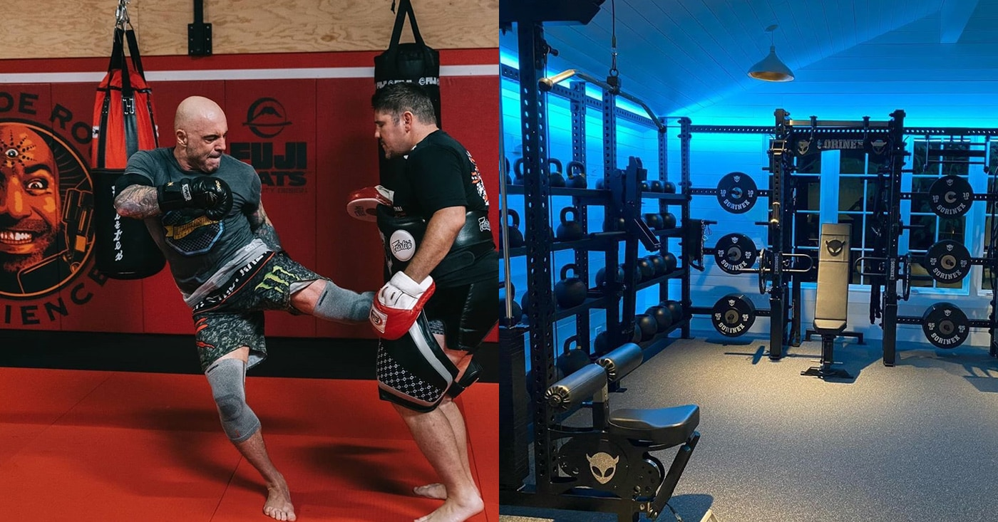 Pullover Vs Pullover Check Out Joe Rogan 39;s Cool New Home Gym – Fitness Volt
