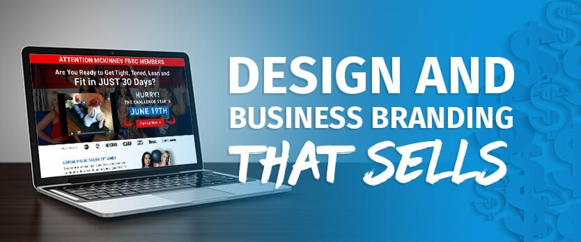 Design and Business Branding That Sells - Fitness Web Design