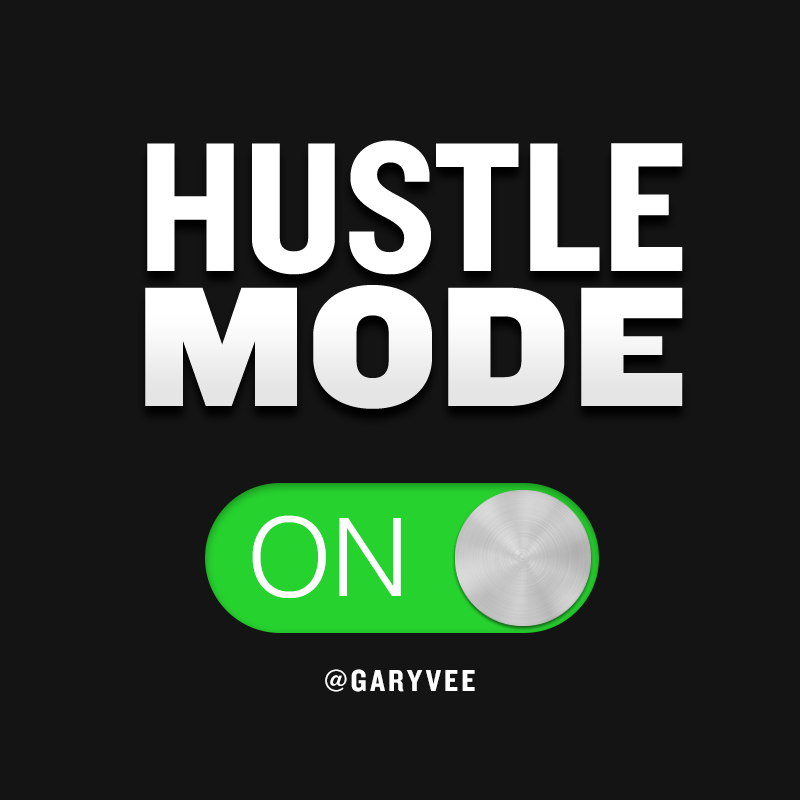 Hustle Hard Girl Wallpaper Quot Overnight Success Quot By Gary Vaynerchuk Fitnish Com