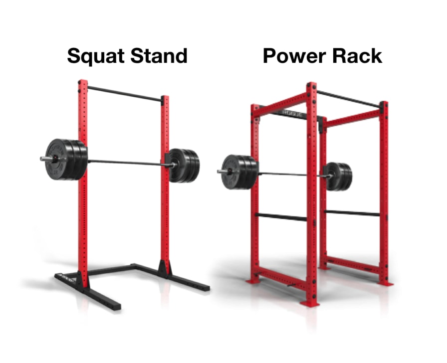 Squat Rack Vs Power Rack And How To Select The Right Rack