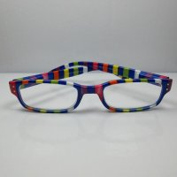 "I NEED YOU Lesebrille +1,0 Modell ""Chaot1"" bunt fr Si"