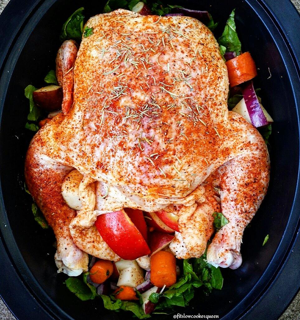 Sweet Apple BBQ Whole Chicken