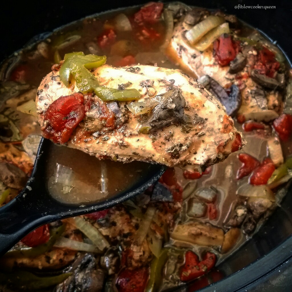 Slow Cooker Chicken Cacciatore