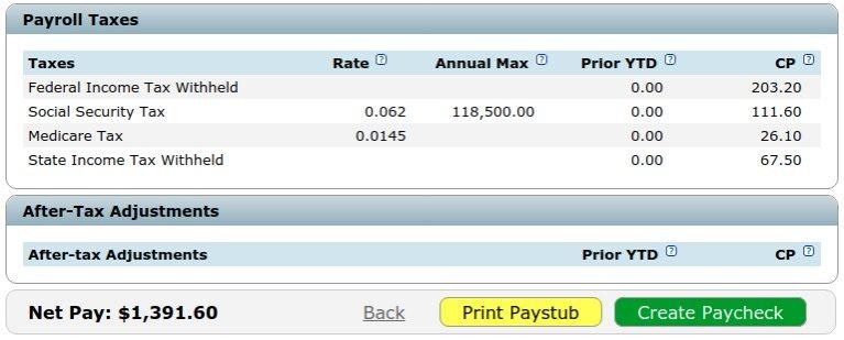 paycheck calculator nyc - Josemulinohouse - payroll tax calculator nyc