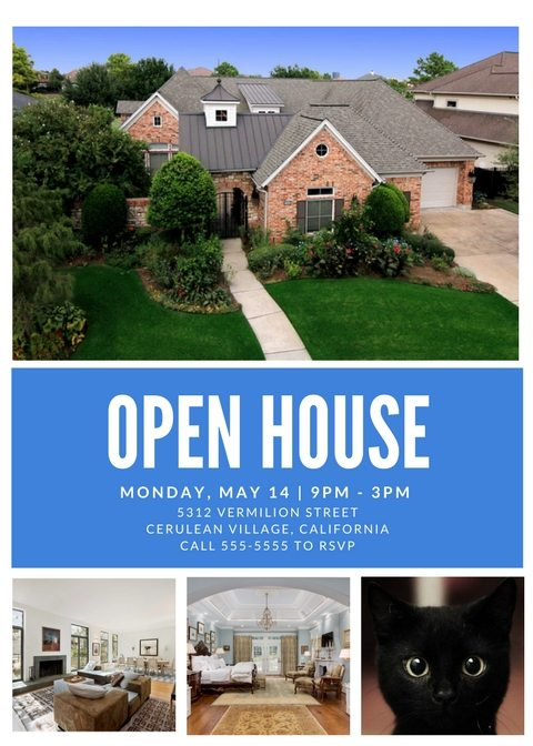 Free Open House Flyer Templates \u2013 Download  Customize - open house flyer