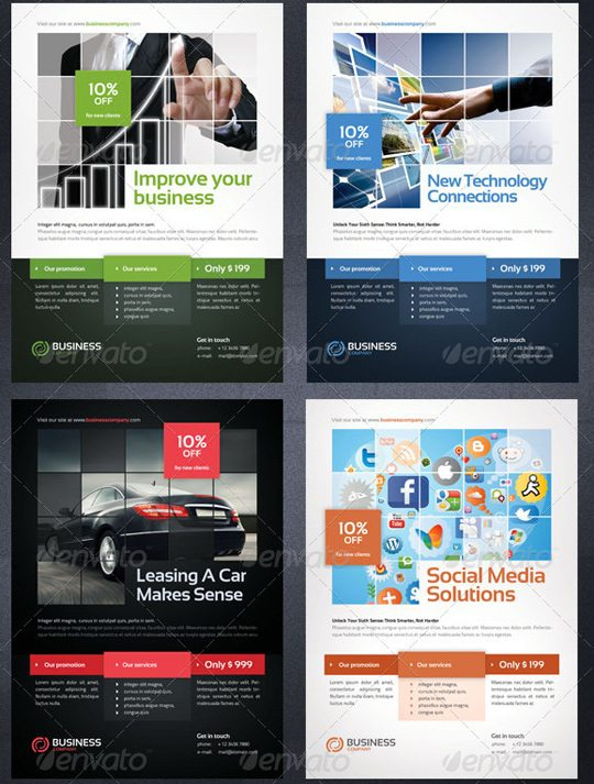 25 Creative Flyer Templates to Showcase Your Small Business