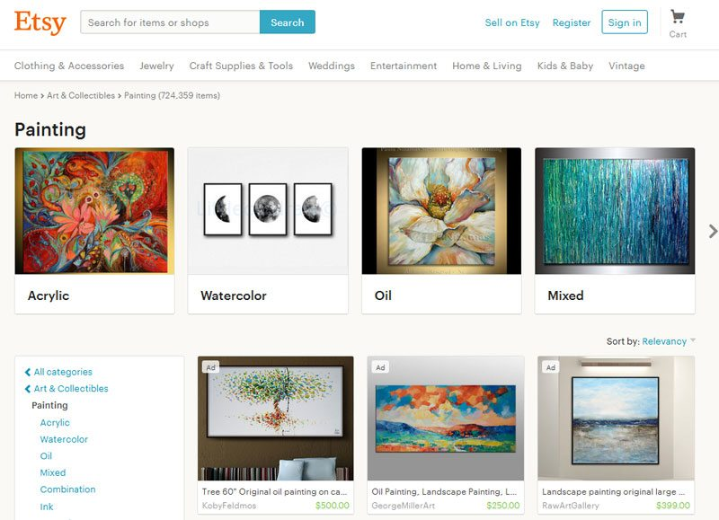 How to Sell Art Online \u2013 The Ultimate Guide