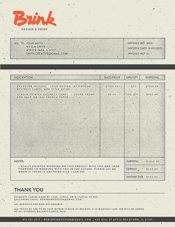 10 Invoice Examples What to Include + Best Practices