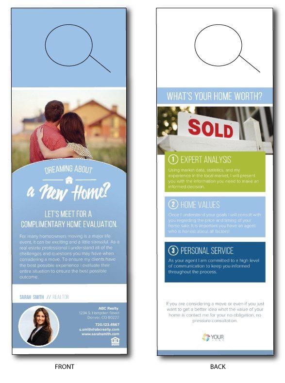 Real Estate Door Hangers \u2013 Leads From Front Door Marketing