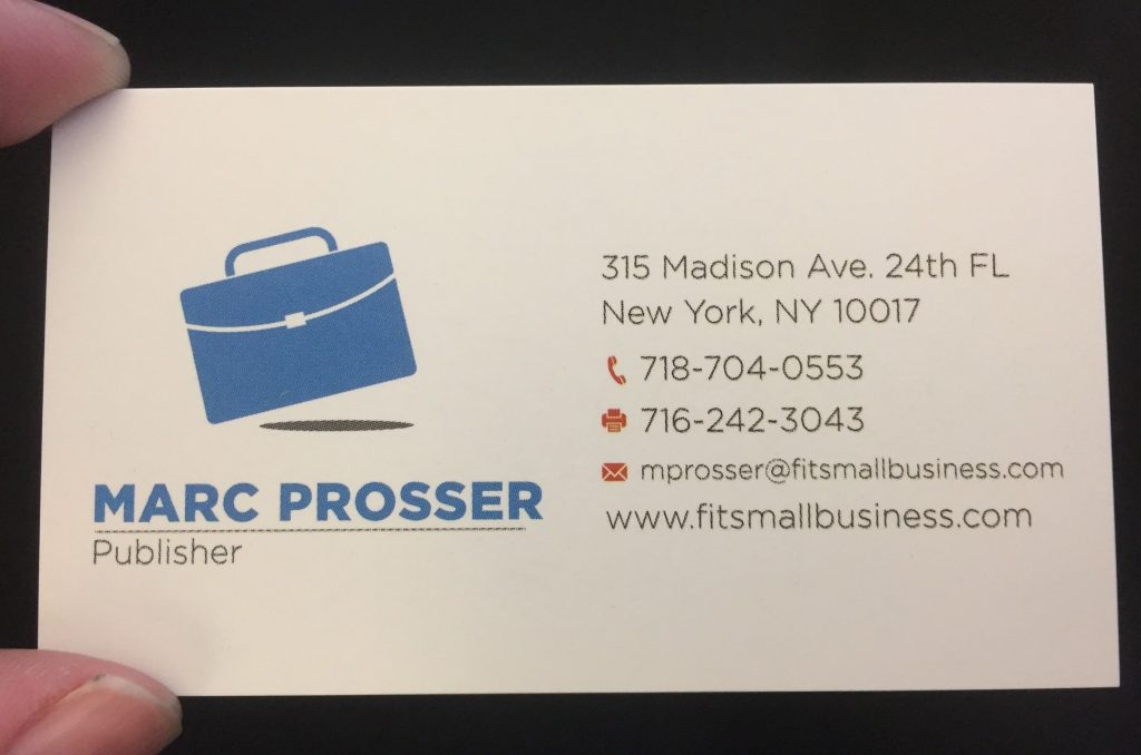 Best Business Card Provider for Small Businesses 2018