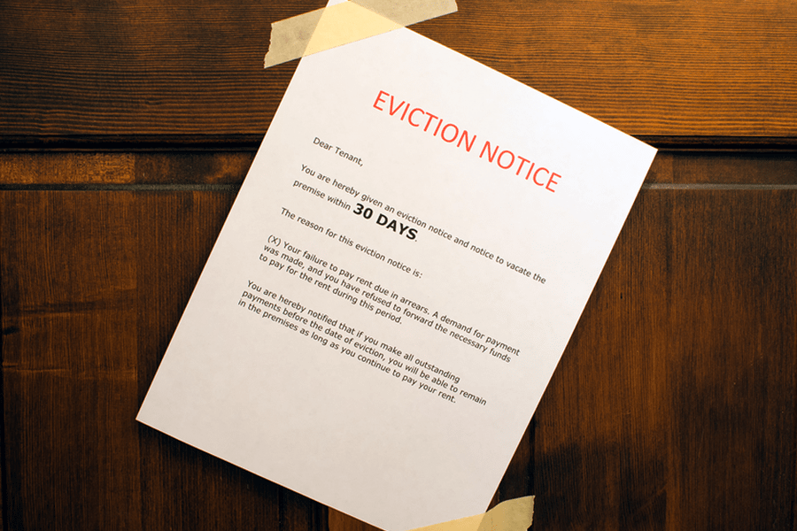 eviction notice free printable