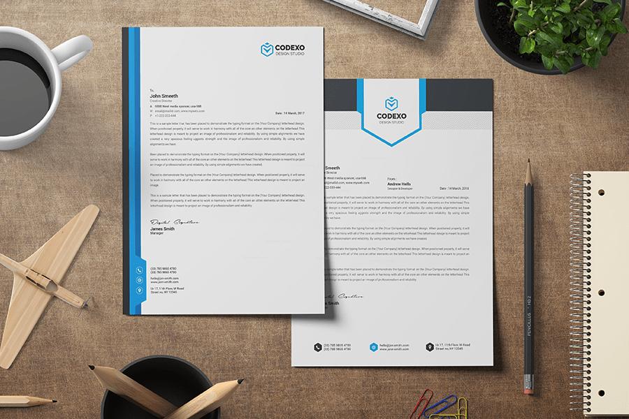 letterhead design online