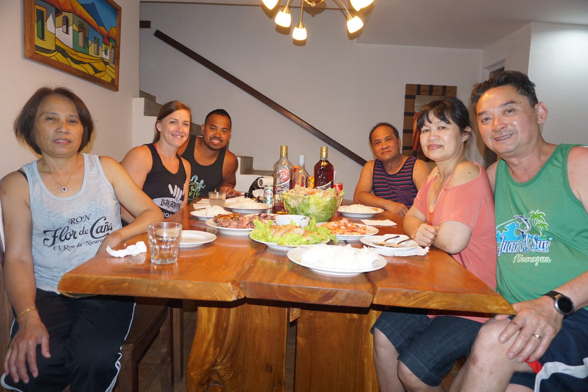 San juan del sur nicaragua fit two travel for Family diner