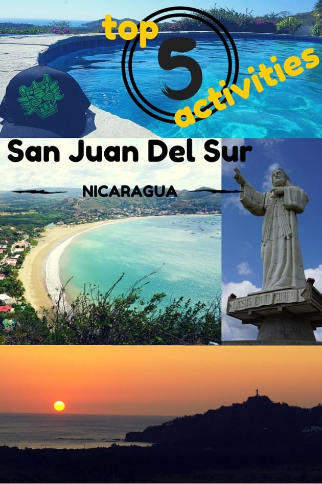 Top 5 things to do In San Juan Del Sur Nicaragua, surf, catamaran, zip-line, jesus, sunday funday