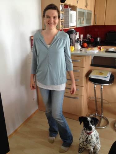 Ulli 1 Monat postpartum
