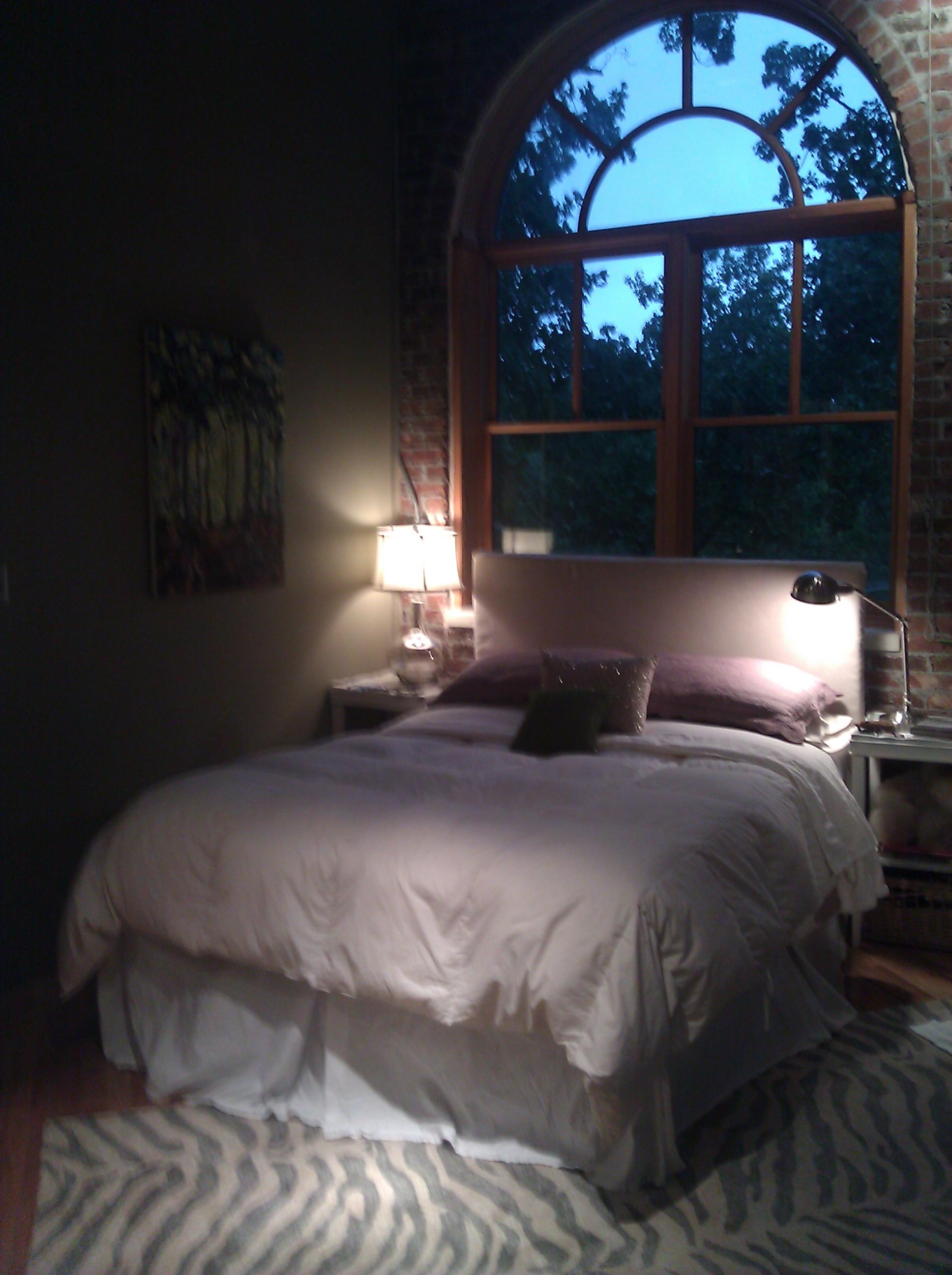 Dark Living Room At Night dark bedroom at night