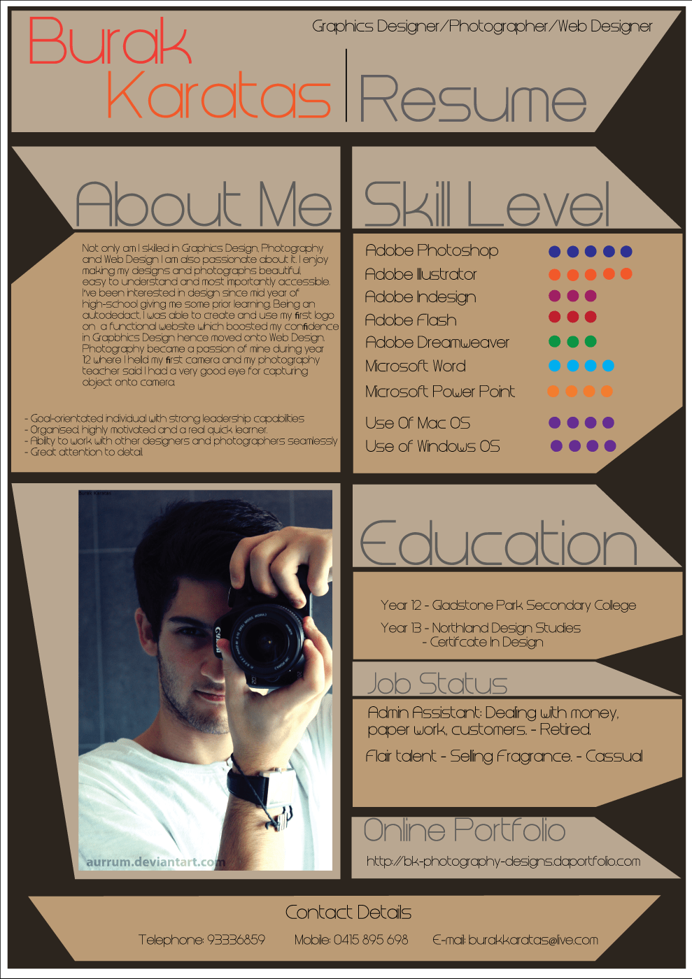 10 Eye Catching Graphic Designer Resumes How Design How To Make An Infographic Resume