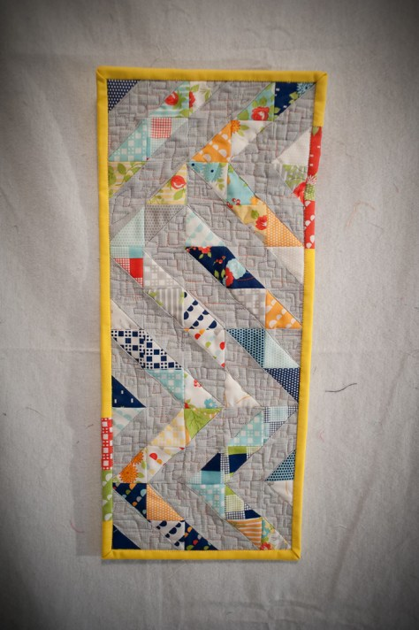Ziggy Mini Quilt