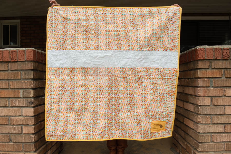 Baby Girl Quilt-4