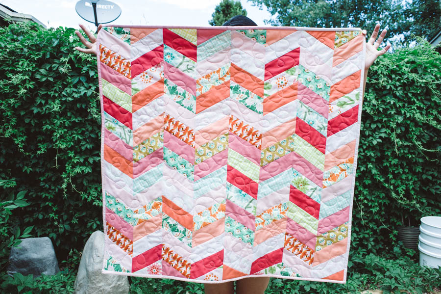 Baby Girl Quilt #2-2