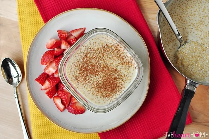 Paleo Tropical Coconut Quinoa Pudding