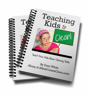 How to Teach Your Kids How to Clean (Free Ebook Curriculum) - teaching evaluation form