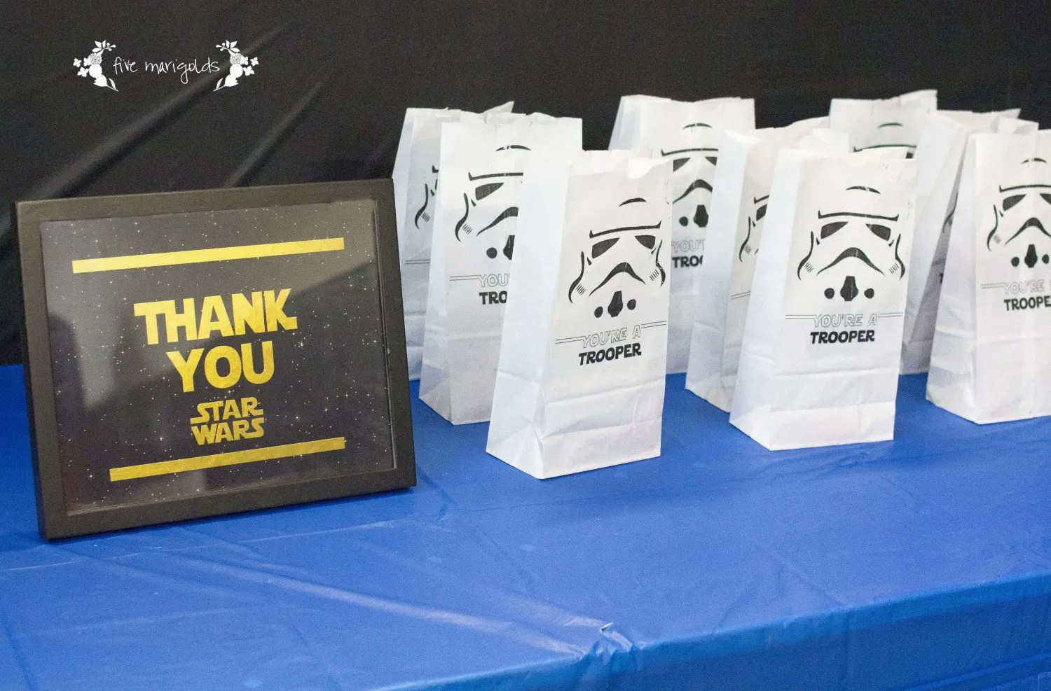 Star Themed Gifts Star Wars Birthday Party Part Ii Party Favors Five