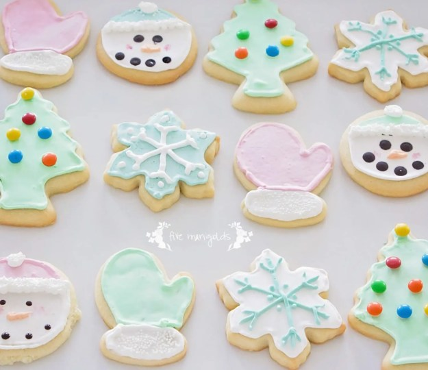 Give Marigolds | The Best Sugar Cut Out Cookies