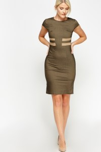 Formal Midi Pencil Dress - Just 5
