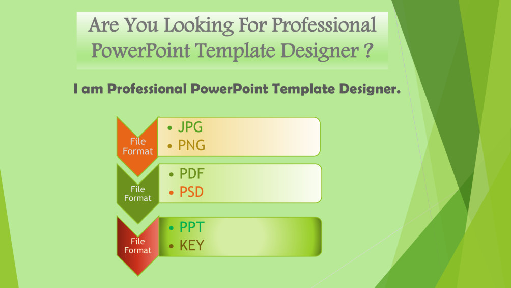 Create professional powerpoint presentations or template by Serv24