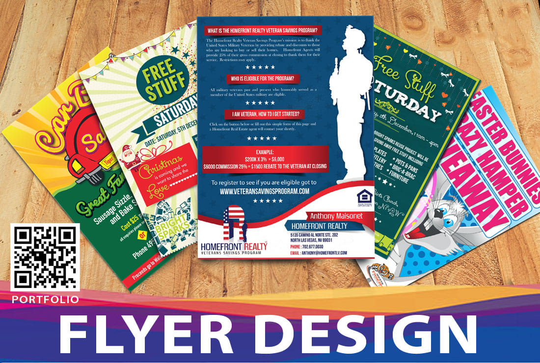 Camino Al Norte Las Vegas Design Professional Flyer Or Poster In Just 6hrs