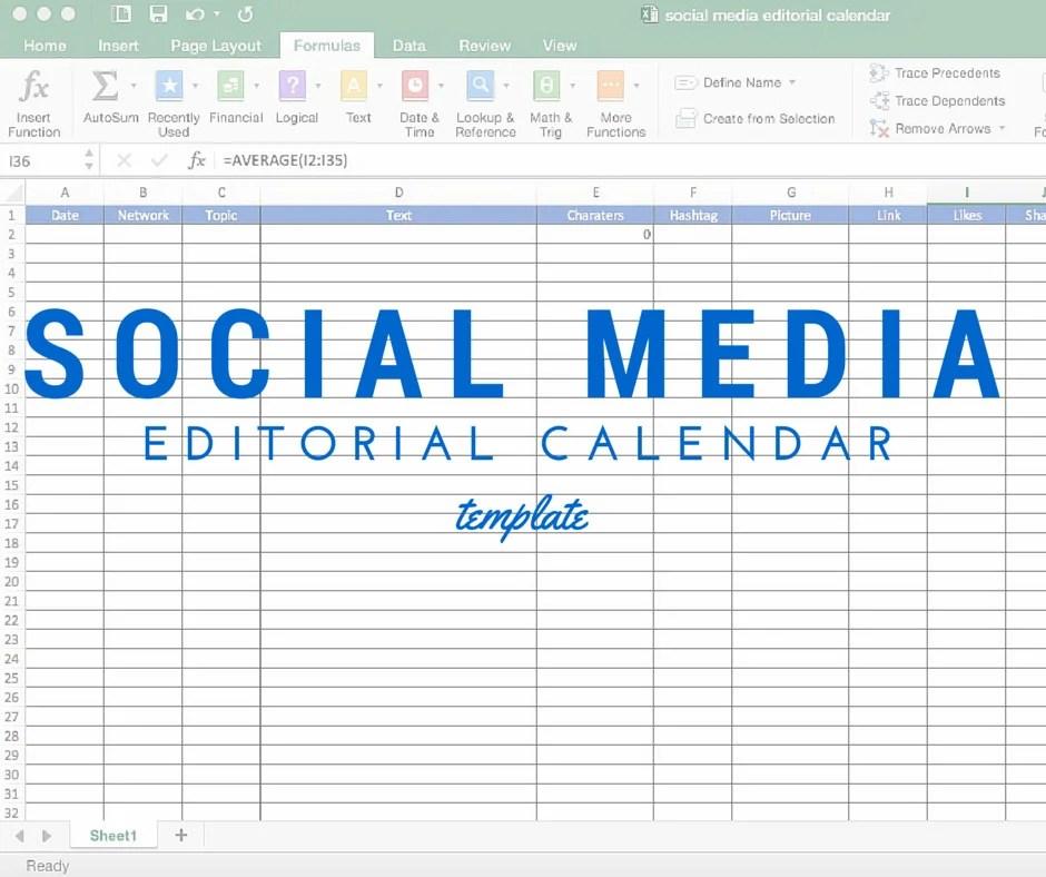write social content calendars