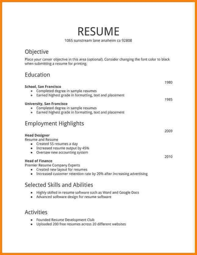 Create an impressive resume by Jennacarey82
