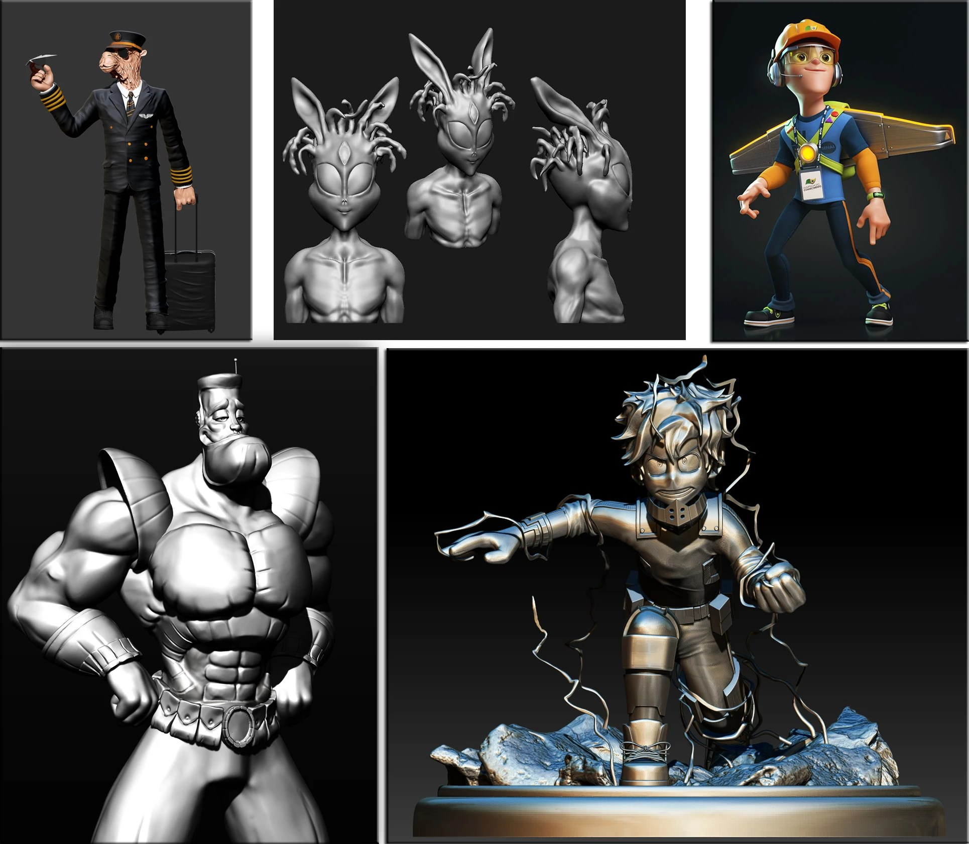 3d Models For Animation 3d Models For Game Animation 3d Printing Or Texturing