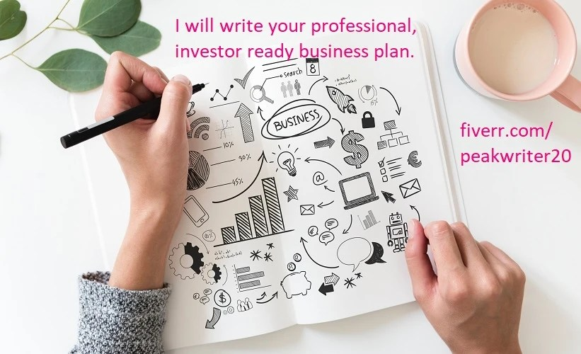 Write business plans marketing plan executive summary by Peakwriter20