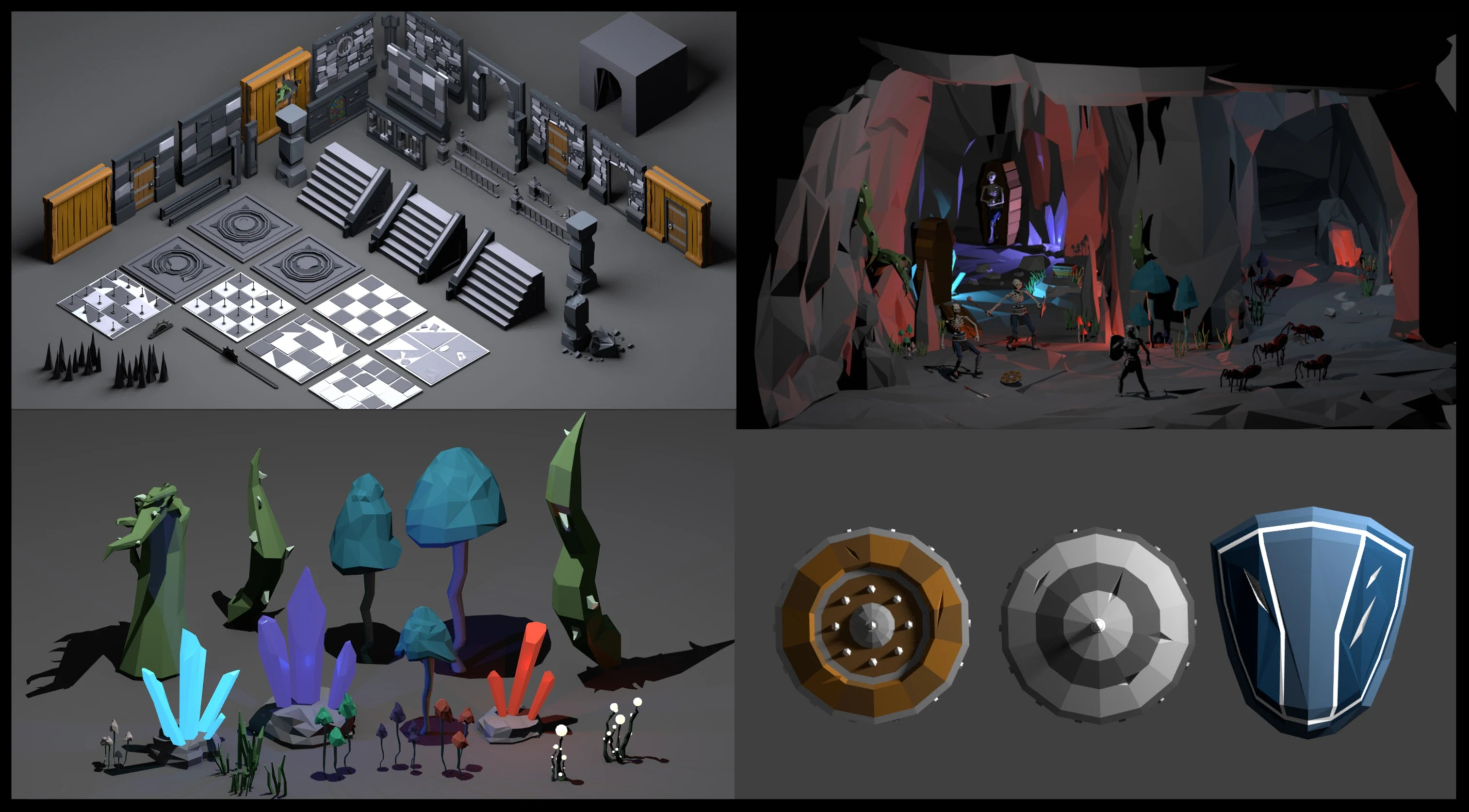 3d Modeling Rendering And Animation Create Low Or High Poly 3d Models For Games Or Render