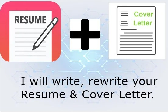 Be your professional resume and cover letter writer by Dennisrufigill