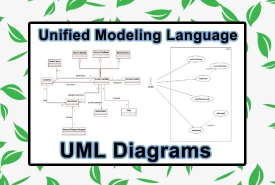 Make uml or erd diagrams on any tool by Illustrationde_
