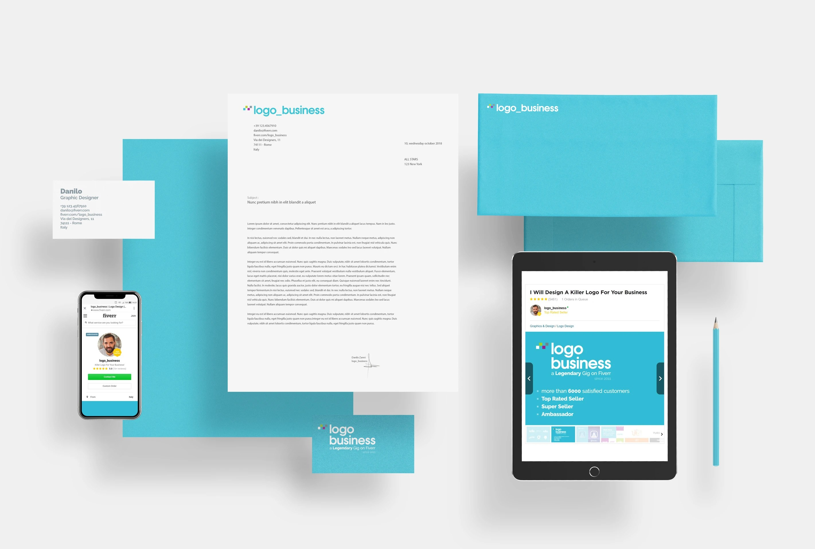 Corporate Graphic Design Design A Killer Stationery For Your Business
