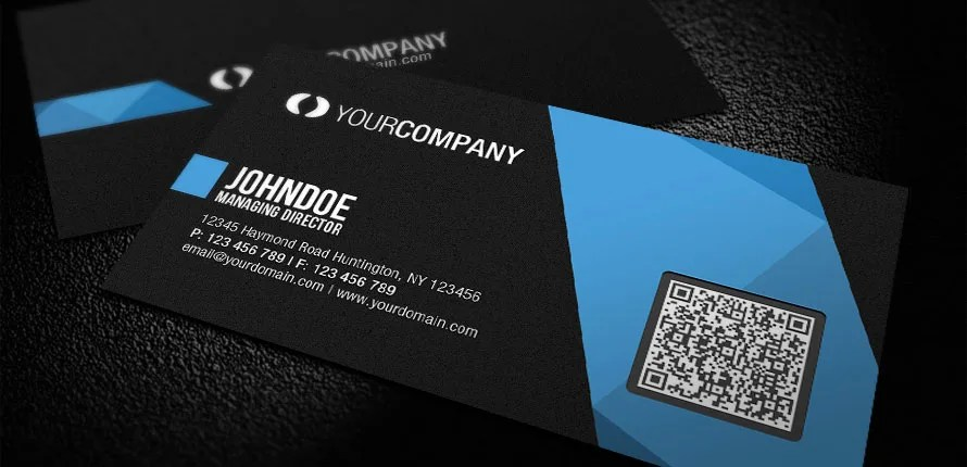 Design business card with qr code by Soikotrajbir
