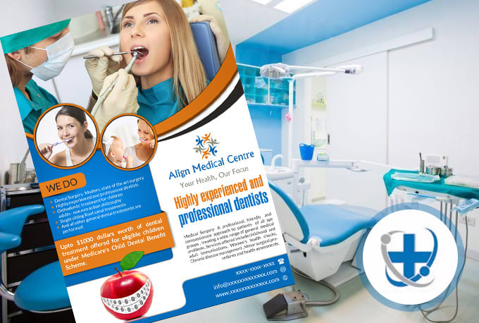 Create informative medical flyer design by Medicsdesign