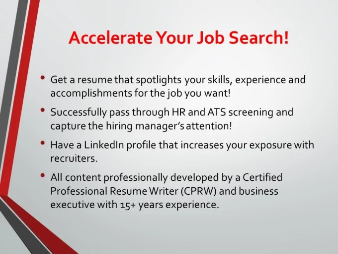 Write a winning resume that accelerates your search by Mediapro71 - how to write a winning resume