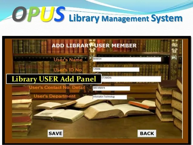 Do online library management system by Tanmaybala