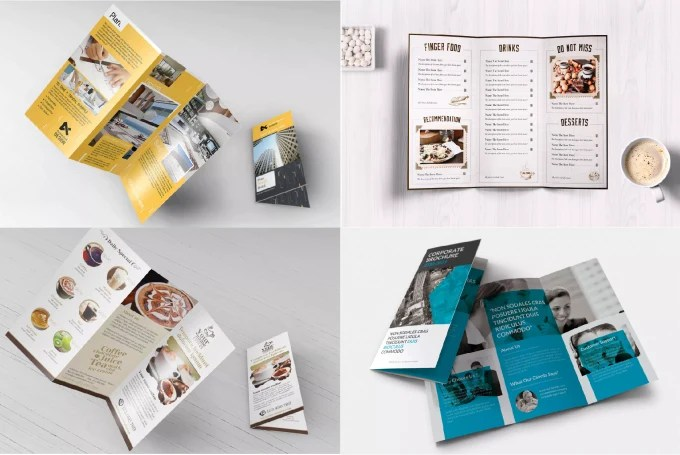 Design a beautiful modern looking trifold flyer by Workco