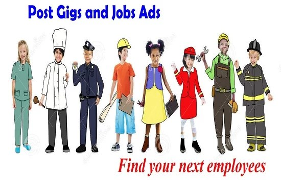 Post your job or gig ads on a top classified site by Tamjidur