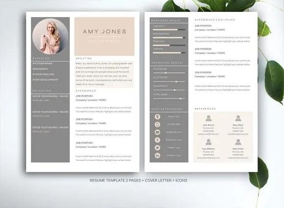 Professional, Resume, CV, Creative Fiverr